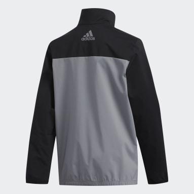 Boys Golf Black Provisional Jacket