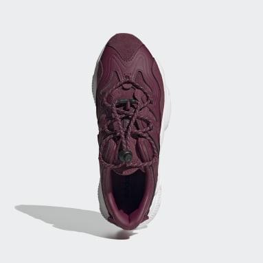 Women's Originals Burgundy OZWEEGO Plus Shoes