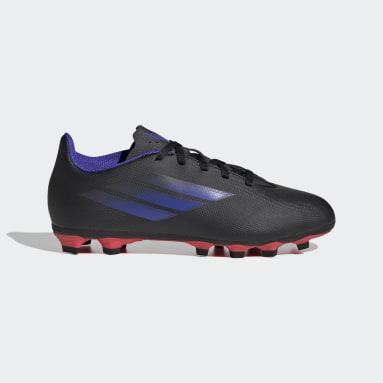 Children Soccer Black X Speedflow.4 Flexible Ground Cleats