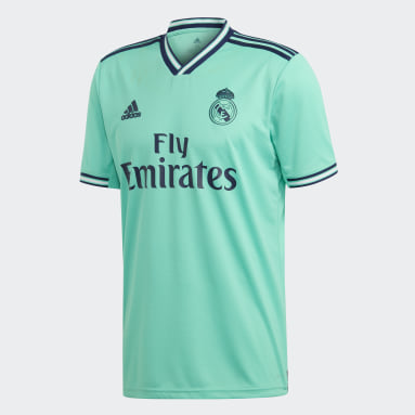 Maillot Real Madrid Third Vert Hommes Football