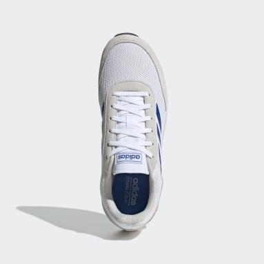 Men Sport Inspired White Run 70s Shoes