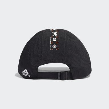 Training Black Branding Seven-Panel Hat