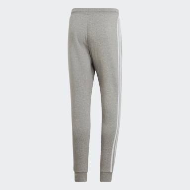 Men Originals Grey 3-Stripes Pants