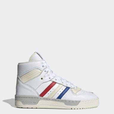 Men's Originals White Rivalry Shoes