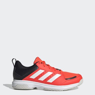Heren Tafeltennis Oranje Ligra 7 Indoor Schoenen