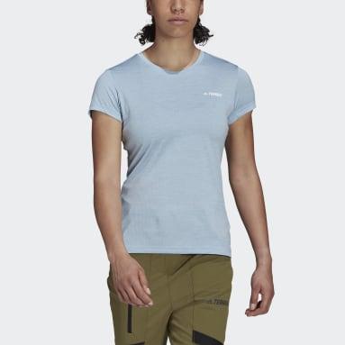 T-shirt Terrex Tivid Bleu Femmes TERREX