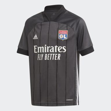 Olympique Lyonnais 20/21 Bortetrøye Grå