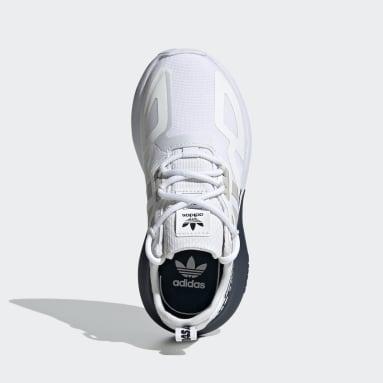 Kids Originals White ZX 2K Shoes