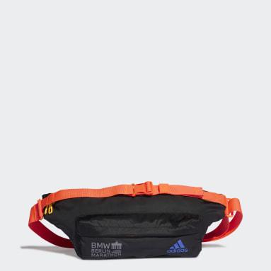 Women Running Black Sport Casual Waist Bag
