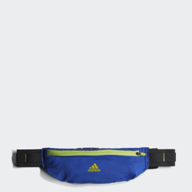 Running Blue Running Belt