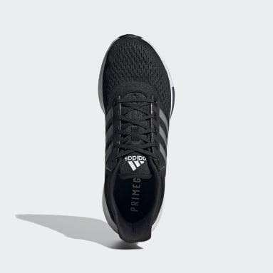 Men Running Black EQ21 Run Shoes