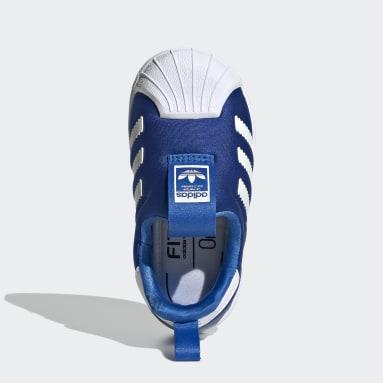 Tenis Superstar 360 (UNISEX) Azul Niño Originals
