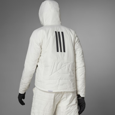 Frauen TERREX TERREX MYSHELTER PrimaLoft Hooded Padded Jacke Weiß