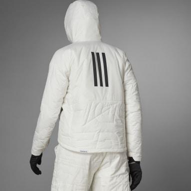 Women TERREX White Terrex MYSHELTER PrimaLoft Hooded Padded Jacket