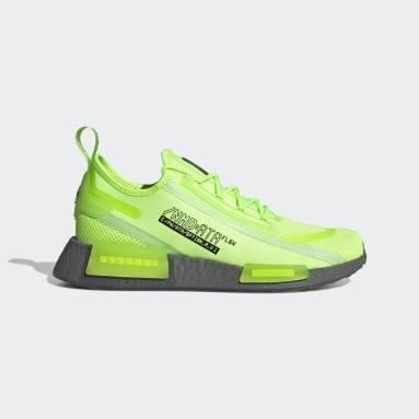 Men's Originals Green NMD_R1 Spectoo Shoes