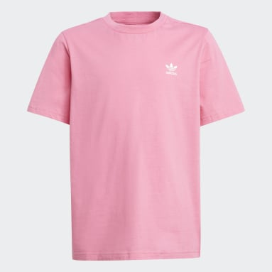Kids Originals Pink Adicolor T-Shirt