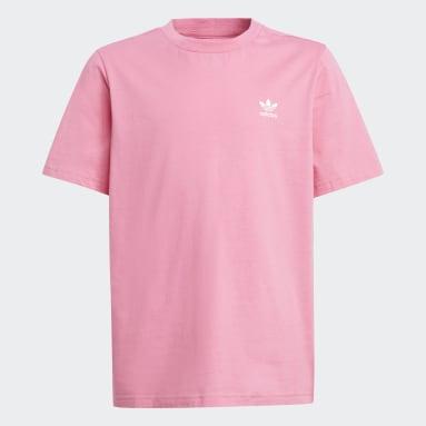 Děti Originals růžová Tričko Adicolor