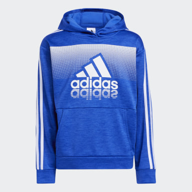 Youth Training Blue Fade Horizon Hoodie (Extended Size)