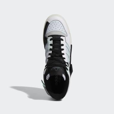 Originals White Forum Exhibit Mid Shoes
