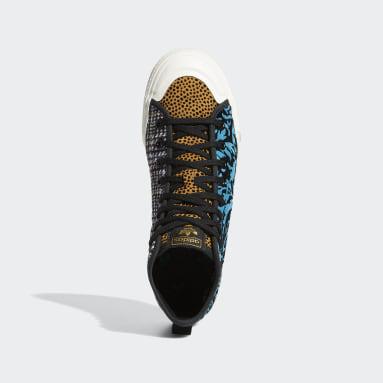 Originals Black Nizza Hi RF Shoes