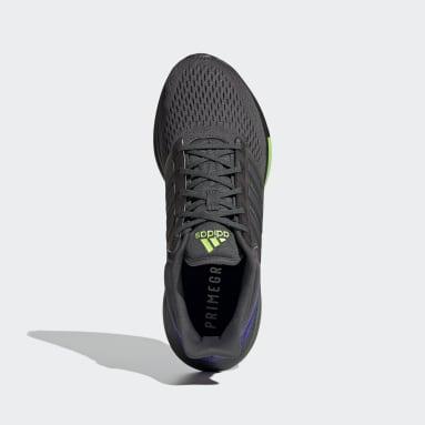 Running Grey EQ21 Run Shoes