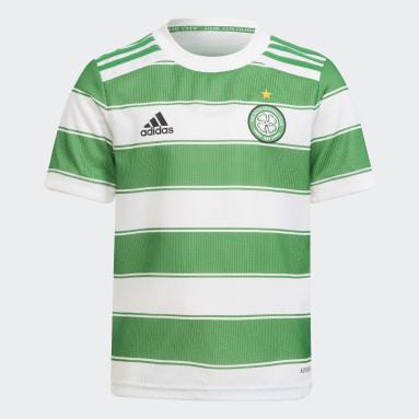 Miniconjunto primera equipación Celtic FC 21/22 Blanco Niño Fútbol
