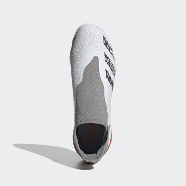 Zapatos de fútbol Predator Freak.3 Sin Cordones Pasto Sintético Blanco Hombre Fútbol