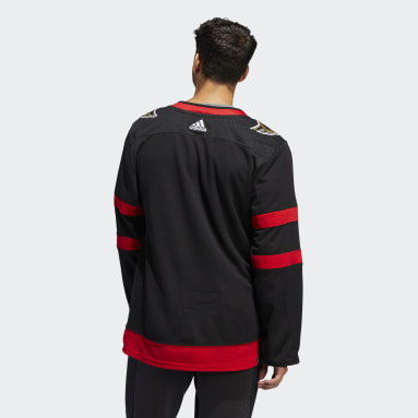 Men Hockey Black Senators Home Authentic Jersey