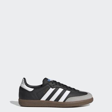 Youth Originals White Samba OG Shoes