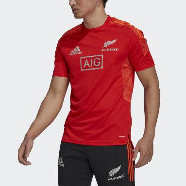 красный Футболка для регби All Blacks Performance Primeblue