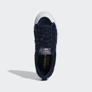 Chaussure Nizza Platform Bleu Femmes Originals