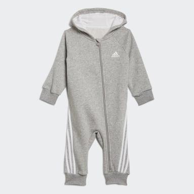 Grenouillère Future Icons gris Bambins & Bebes Entraînement