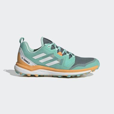 Chaussure de trail running Terrex Agravic Vert Femmes TERREX