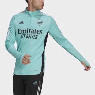 Sudadera entrenamiento Arsenal Tiro Verde Hombre Fútbol