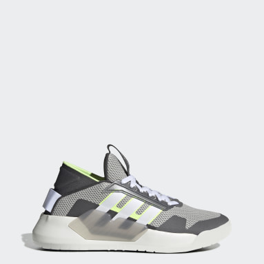 Men Sport Inspired Grey BBall 90s Shoes