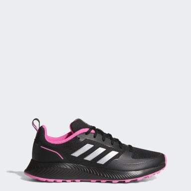 Women Running Black Run Falcon 2.0 TR Shoes