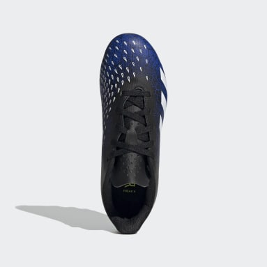 Kids Football Blue Predator Freak.4 Flexible Ground Boots