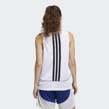 Canotta 365 Women in Power Bianco Donna Basket