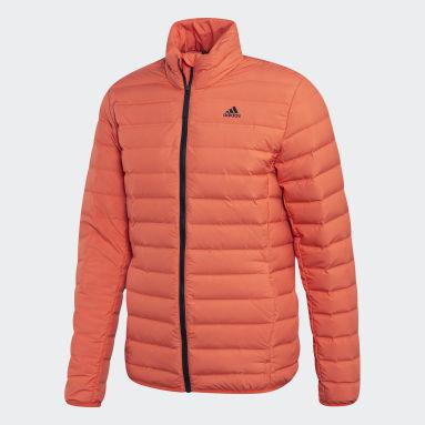 Mænd Overtøj Med Gadestil Orange Varilite Soft dunjakke