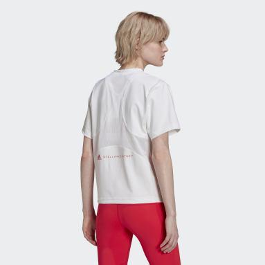 aSMC TPR L TEE Blanco Mujer adidas by Stella McCartney