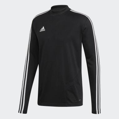 Heren Fitness En Training zwart Tiro 19 Training Sweater