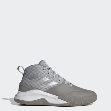 Men Basketball Grey Own the Game Shoes