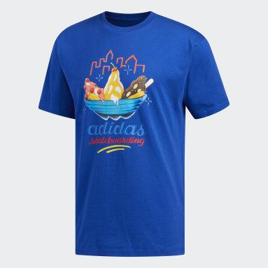 T-shirt Urgello Blu Uomo Originals