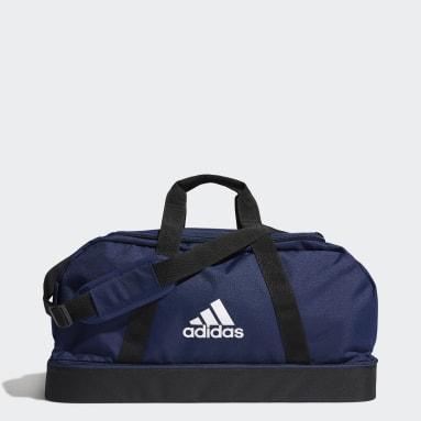 Football Blue Tiro Primegreen Bottom Compartment Duffel Bag Medium