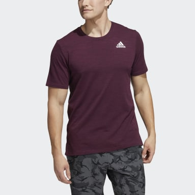 Men Gym & Training Red City Elevated T-Shirt