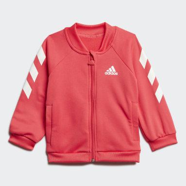 Kids Training Pink Mini Me Track Suit