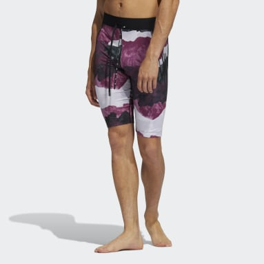 Men's Yoga Black Earth Graphic Fitted Yoga Shorts