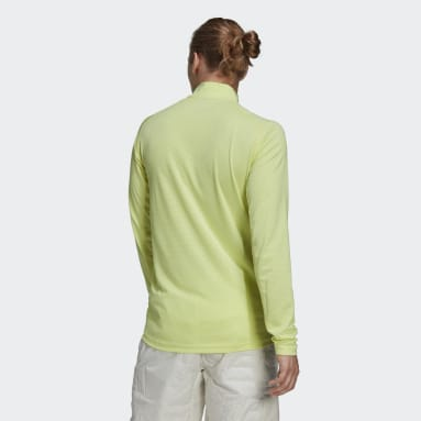 Terrex Tracerocker Half-Zip Long Sleeve T-skjorte Gul