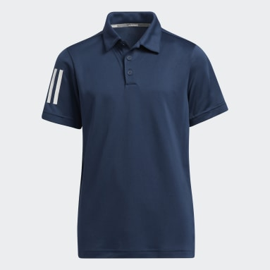 Polo 3-Stripes Bleu Garçons Golf