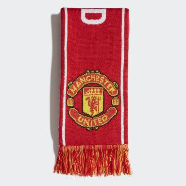 Fodbold Rød Manchester United tørklæde